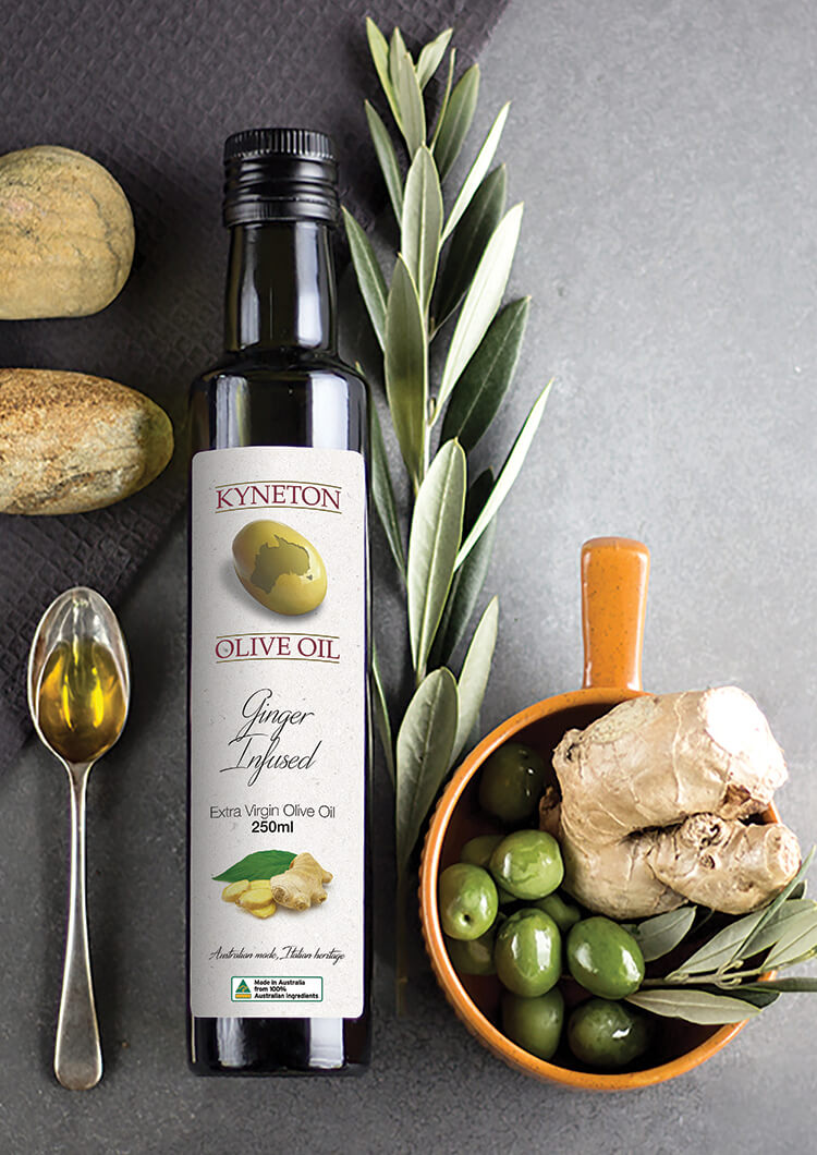 Ginger Infused Extra Virgin Olive Oil
